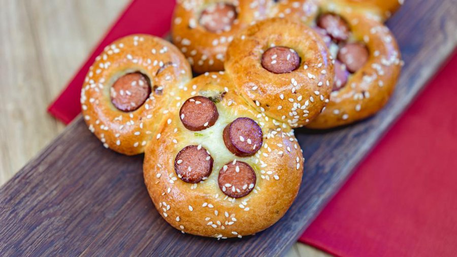 Mickey Shaped Hot Dogs Available at Disneyland