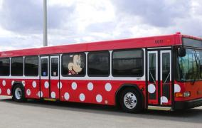 Current Character Buses in Service at Walt Disney World