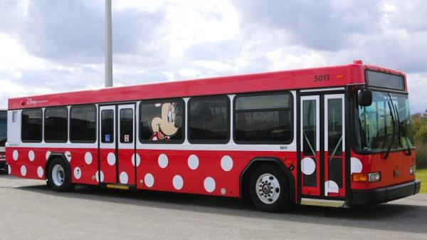 Current Character Buses in Service at Walt Disney World 1