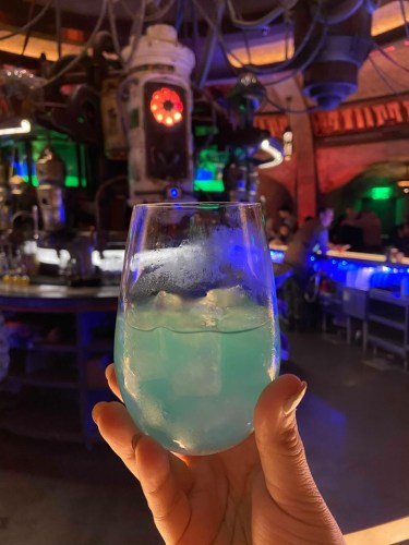 Disney Cast Members Help Make Memories at Oga's Cantina