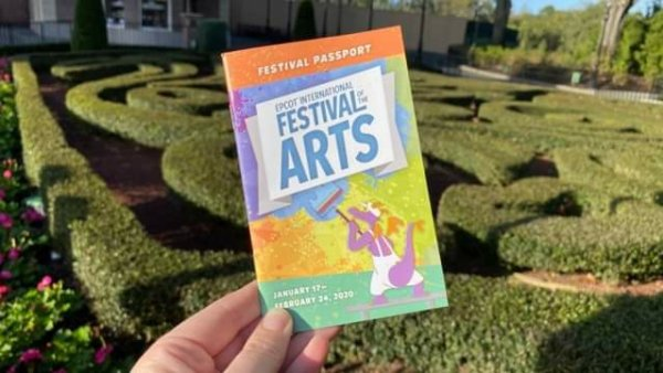 First Look: Passport of the Epcot International Festival of the Arts 1