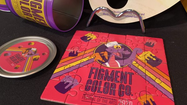 2020 Epcot Festival of the Arts Figment's Brush with the Masters Scavenger Hunt 6