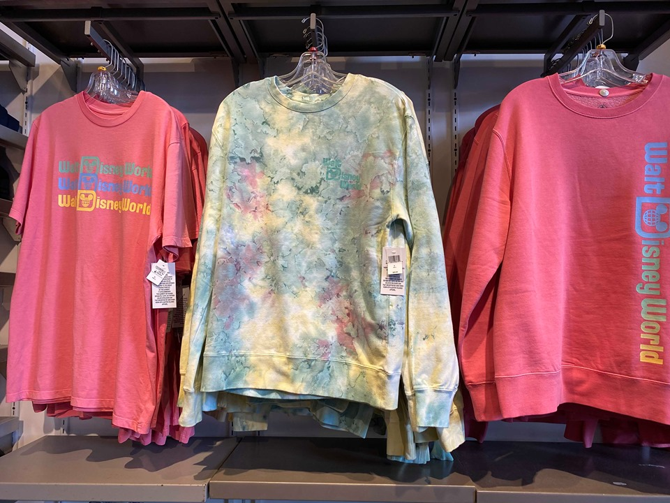 New Tie Dye Sweatshirt And Sweatpants Set At Disney World