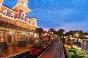 Walt Disney World Railroad Photo Opportunity Moving to Fantasyland