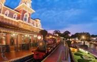 Walt Disney World Railroad Photo Opportunity Moving to Fantasyland