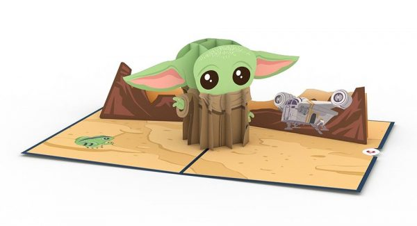 Baby Yoda Card From Lovepop At Disney Springs 1