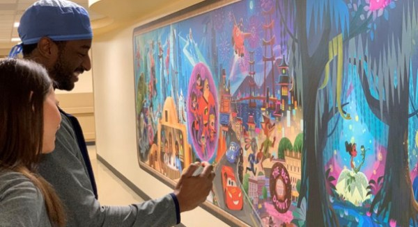 Disney transformed children's hospital