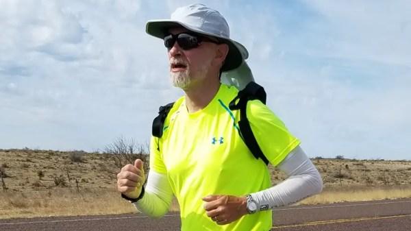 An Ultra Marathoner is Running From Disneyland to Walt Disney World 1