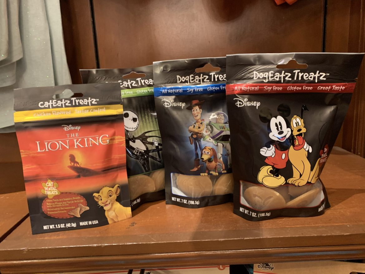For Your Furry Friends: DogEatz and CatEatz Treatz are Now Available at Walt Disney World