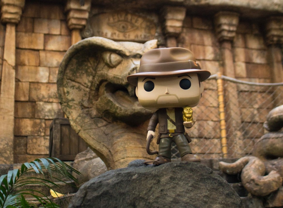 New Indiana Jones Funko Pop Coming To Disney Parks