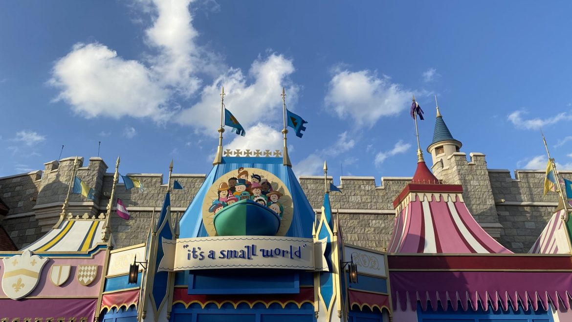 It's A Small World Refurb Is Underway