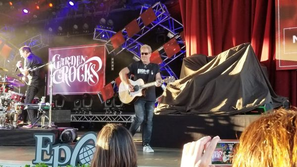 Band performing at Epcot Garden Rocks Concert