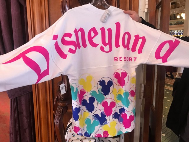 Lavender And Mickey Balloon Spirit Jerseys