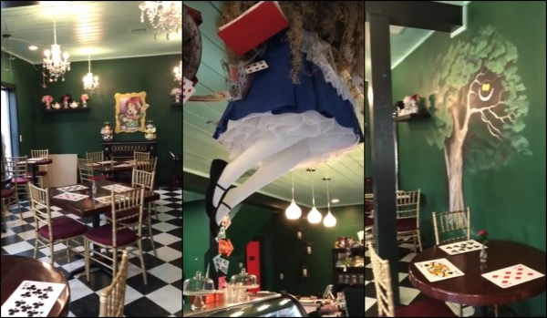 Disney Fans Are Madly in Love With This 'Alice in Wonderland' Inspired Tea Room 1