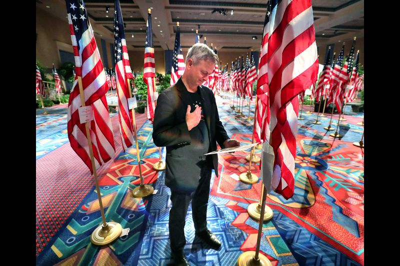 Gary Sinise Wins Patriot Awards for Helping Veterans and Their Families