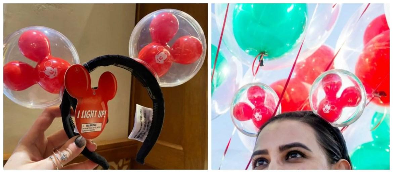 Mickey Balloon Ears Available at Disneyland
