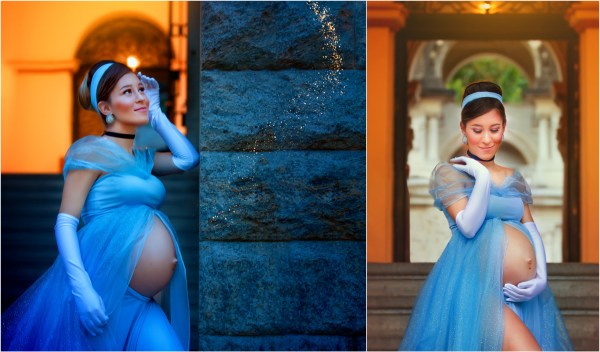 Magical Maternity Photo Shoots Turned These Expectant Moms Into Disney Princesses 4