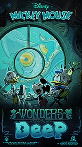 """New """"Wonders Of The Deep"""" Poster For Mickey & Minnie's Runaway Railway! 2"""