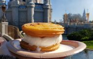A Twist on Two Classic Treats at Magic Kingdom Its a Churro Ice Cream Sandwich