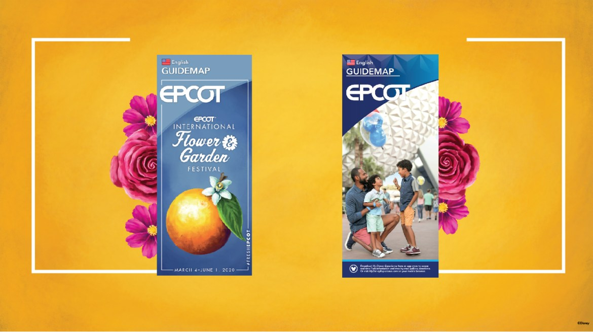 Updated Guide Maps Are Coming To Epcot!