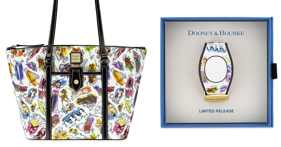 Disney Ink and Paint Dooney Bourke Collection Coming Soon
