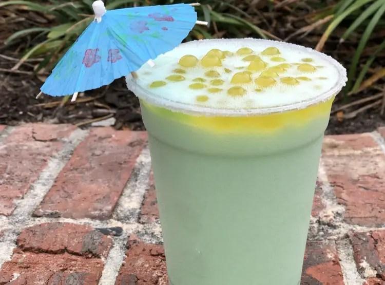 New Melon Cream Slush Coming Soon to Disney Springs
