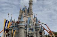 Cinderella's Castle Makeover Has Started At Magic Kingdom