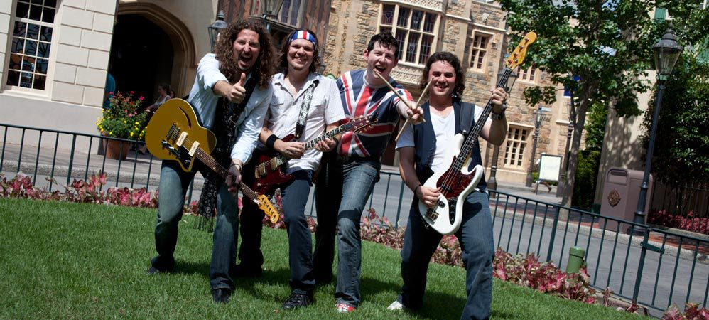 The British Revolution no longer performing in Epcot