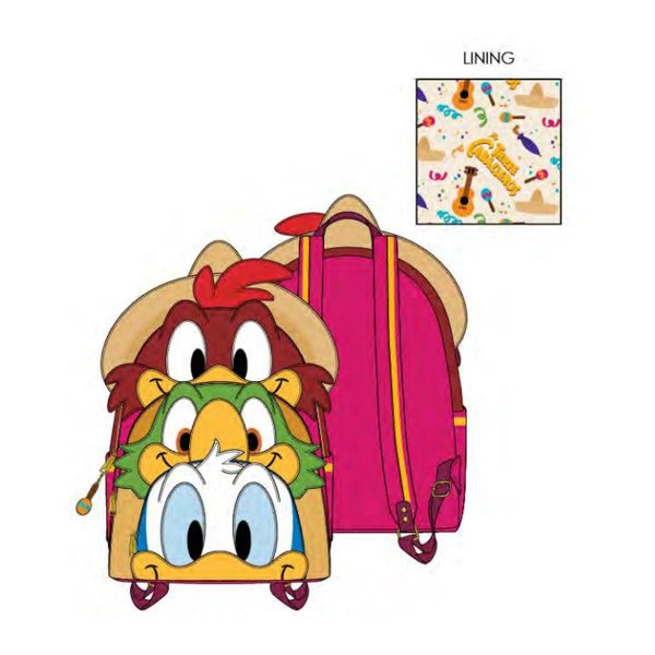 Three Caballeros Loungefly Collection