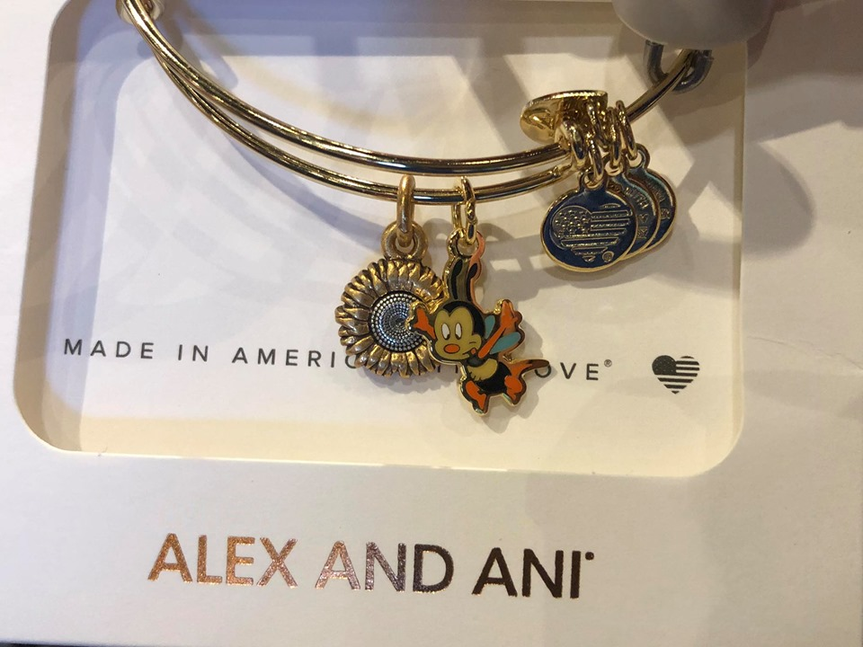 New Spike the Bee Alex and Ani For The Flower And Garden Festival