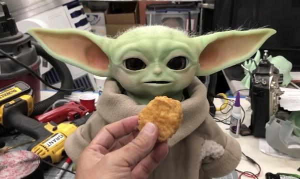 "'Mythbusters' Grant Imahara Built His Own Animatronic ""Baby Yoda"" 1"