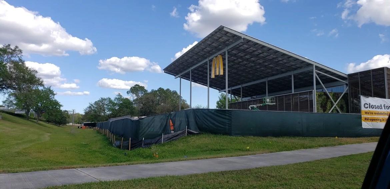 Disney World McDonald's Construction Update