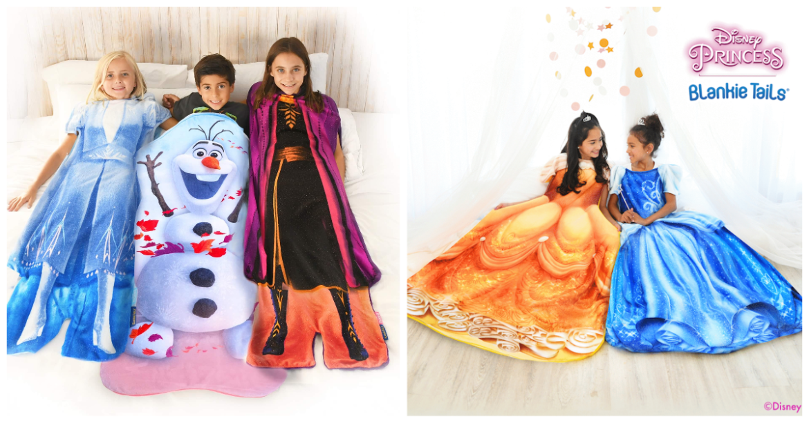Bring the Magic Home With Disney Blankie Tails