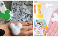 Mickey Shaped Soap Dispensers Make Handwashing Magical