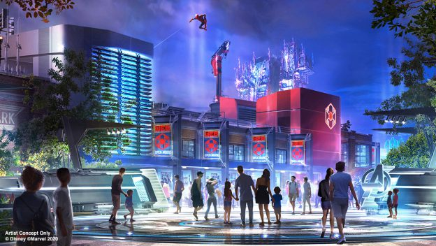 More details released on Marvel Avengers Campus at Disney's California Adventure