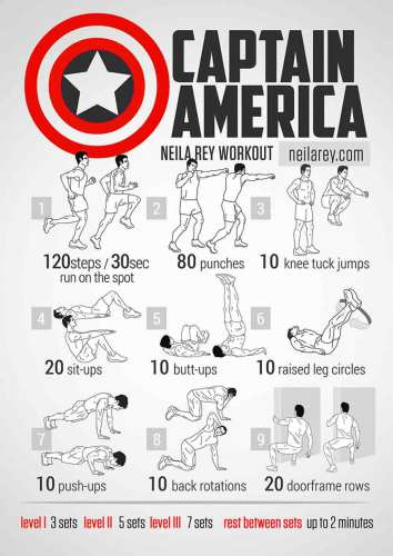 Work Out From Home 'Avengers' Style with Captain America 7