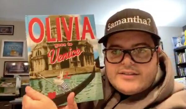 Actor Josh Gad Is Reading Books to Kids Online Every Night During Coronavirus Quarantines 2