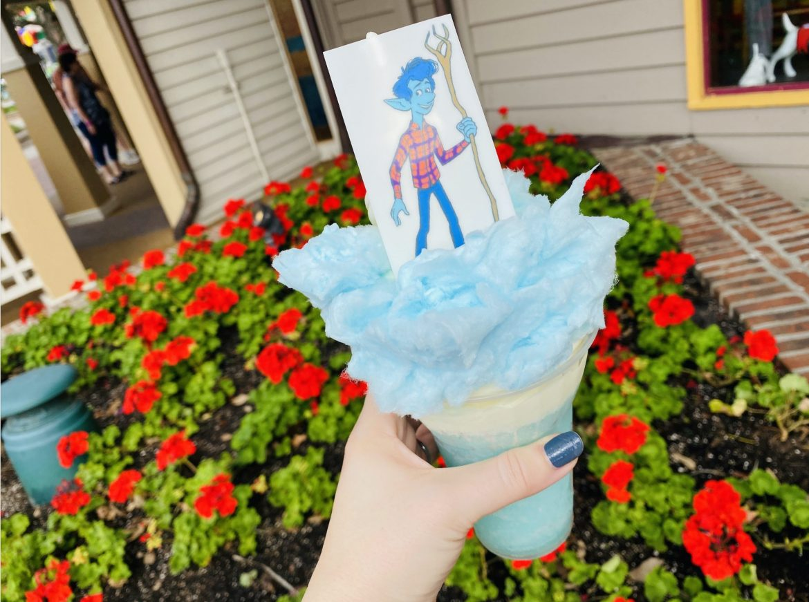 "New ""Onward"" Cotton Candy Lemonade Soft Serve At Walt Disney World!"