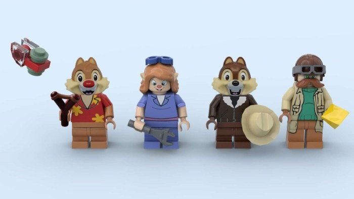 LEGO Rescue Rangers Project Is The Set We Need To Save The Day 2