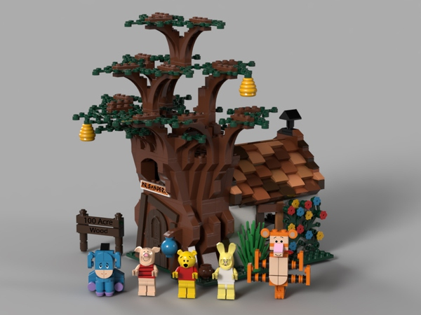 LEGO Ideas Approves New Winnie The Pooh LEGO Set 2