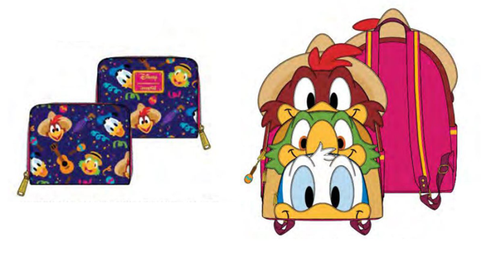 The The Three Caballeros Loungefly Collection Is A Melody Of Style 1