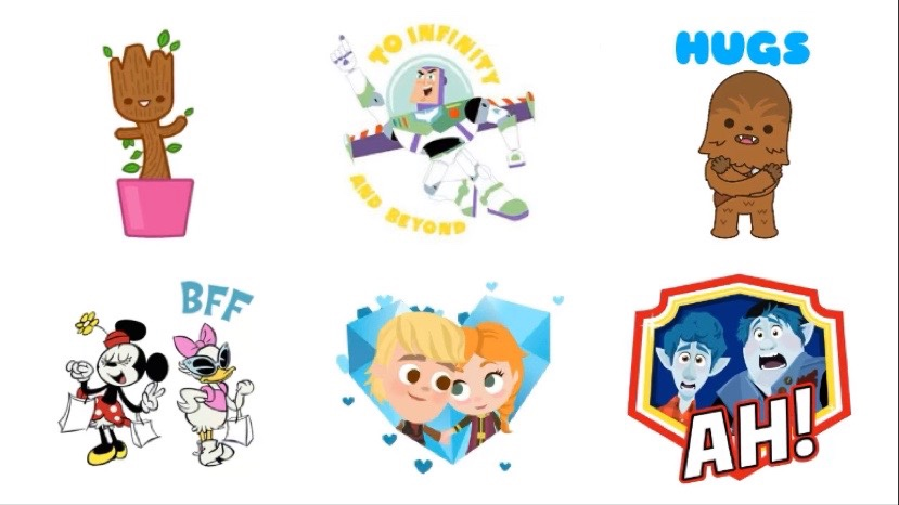 Download Disney, Pixar, Star Wars And Marvel Stickers For iMessage Completely Free!