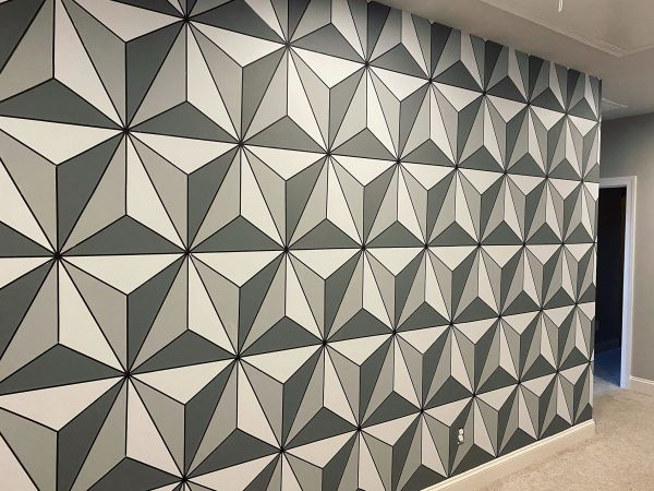 Make this Epcot Spaceship Earth Wall for your home 20