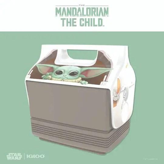 Baby Yoda Igloo Cooler