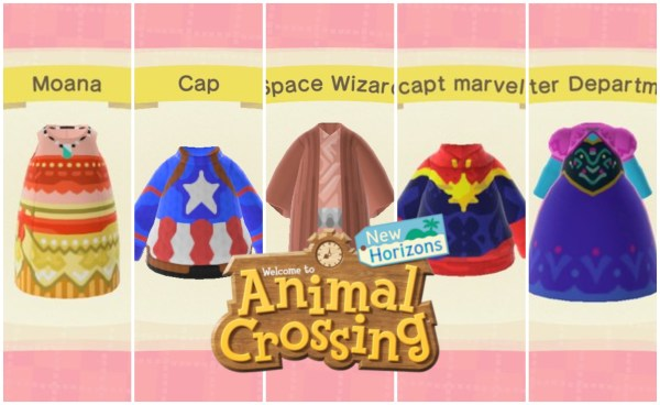 New Star Wars, Marvel and Disney Inspired Outfits Available for Animal Crossing: New Horizons 1