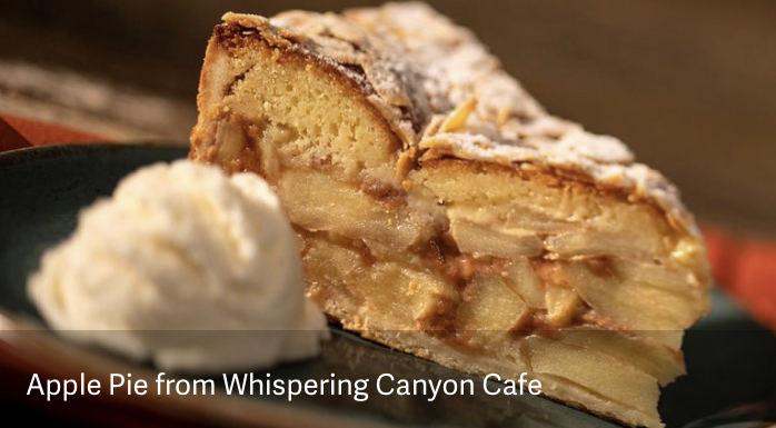 Disney Magic at Home: Apple Pie Recipe From Whispering Canyon Cafe