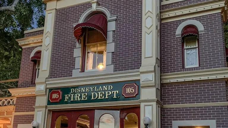 The Lamp Still Glows at Walt's Apartment in Disneyland