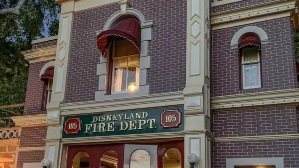 The Lamp Still Glows at Walt's Apartment in Disneyland 1