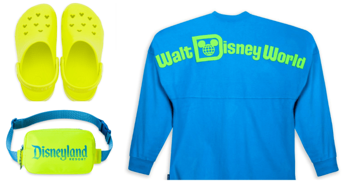 Disney Parks Neon Summer Collection Is Glowing With Style 1