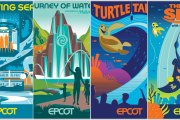 New Epcot Transformation Posters Available On shopDisney